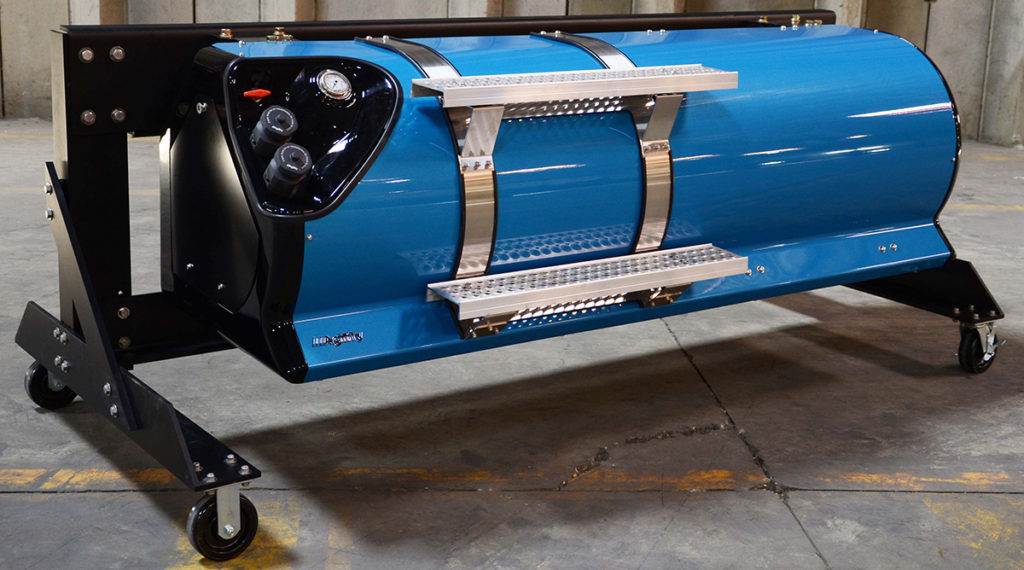 CNG cylinder assembly