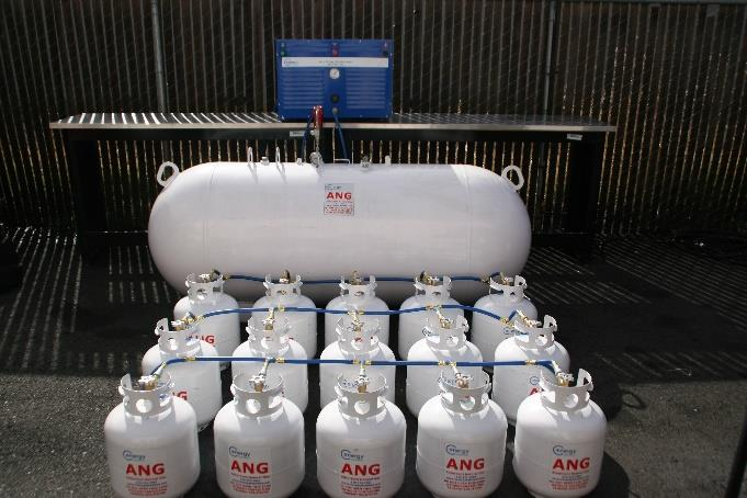 Global Biogas Capture and Utilization Program tanks